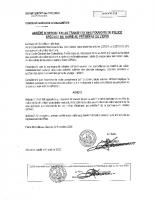 Arrêté 43_2020 Opposition Transfert Pouvoirs Police Du Maire Au President De EPCI